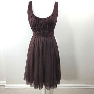 Moulinette Soeurs Anthropologie brown meadow dress